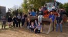Fast 500m Zaun - gebaut von Schülern, Eltern und Lehrern!_8