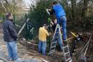 Zaunbauprojekt März-Mai