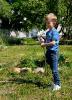 Wässern Pflegen und Gestalten im Schulgarten_2