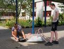 Wässern Pflegen und Gestalten im Schulgarten_67