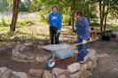 Eltern, Schüler und Lehrer engagieren sich am Mitmachtag der Metropolregion und bauen Kräuterspiralen_2
